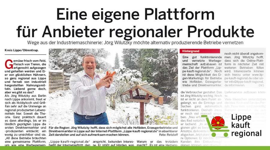 """Unser Portal in der """"Lippe aktuell"""""""