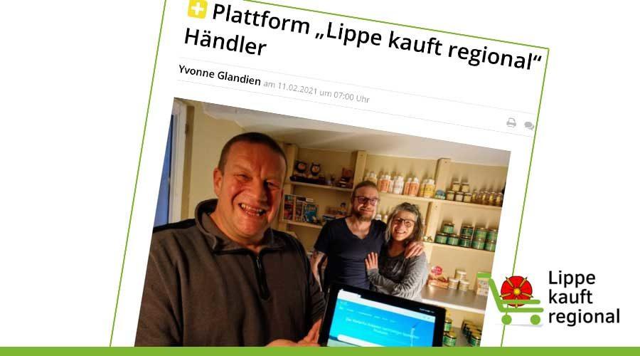 Unser Portal in der Lippischen Landeszeitung
