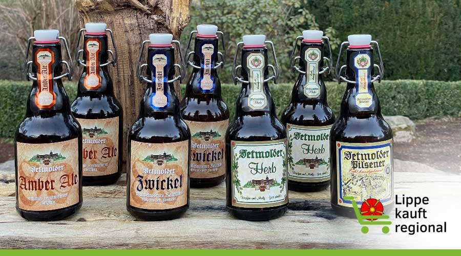 Zu Besuch bei der Brauerei Strate in Detmold